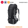 High Quality Camp Travel Hiking big Backpack bags Backpacking Trekking Bag With Rain Cover For Mens
