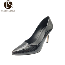 High Quality PU Women High Heel Shoe Ladies Offices Shoes