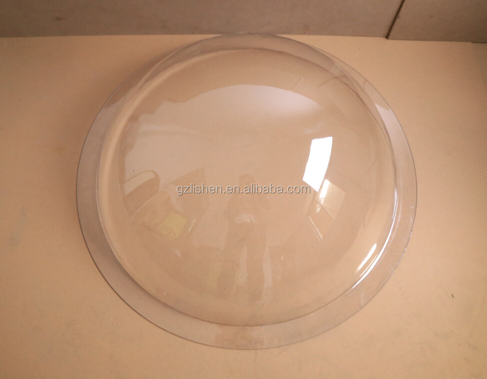 how to make a clear plastic dome