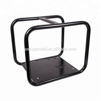 Customized High Quality Black Coating Metal Water Trolley Cart Frame