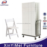outdoor steel plastic folding chairs for rent