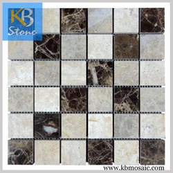 Polished tile dark emperador floor tiles home depot