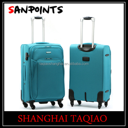 Hot sale eva polyester luggage bags cases suitcase sets