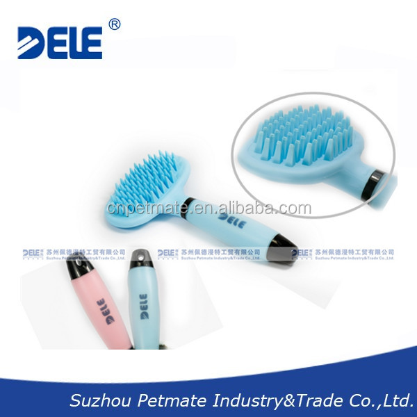 Multiple Use Dog Brush for All breeds of Dog and Cat as Pet Bathing Brush Shampoo Massager Deshedding Tool