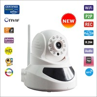 H.264 ONVIF Multi-stream WPS Wireless HD Megapixel WIFI IP Camera