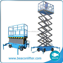first class scissor hydraulic material handling mobile scissor lift