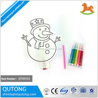 High Quality educational Cartoon diy balloon painting toy , diy toy