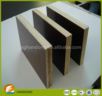 new product 2016 hot construction use plastic film faced plywood
