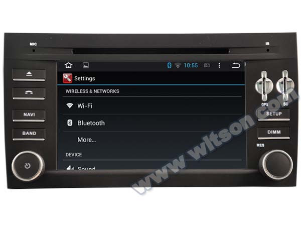 WITSON Android 4.4 AUTO CAR DVD GPS NAVIGATION FOR PORSCHE Cayman 1080P HD VIDEO 1.6GHZ Frequency DVR 3D MAP