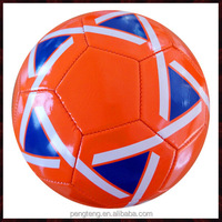 Wholesale stock soccer ball/china cheap rubber football no. 4