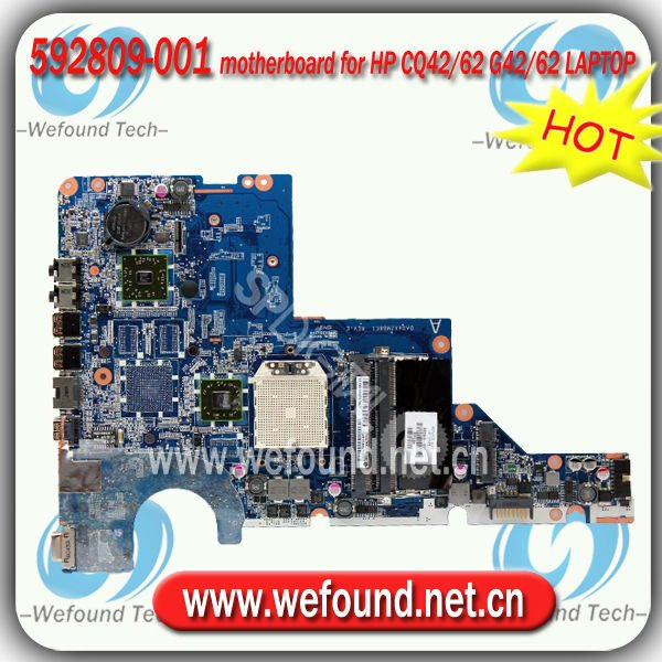592809-001 motherboard for HP CQ42 CQ62 G42 G62 LAPTOP