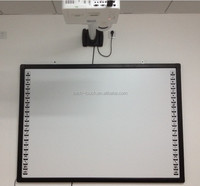 No light spots interactive smart board electronic white board