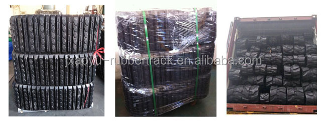 CAT 297 Rubber Track with Direct Factory Price