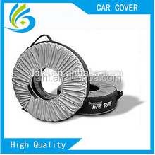 manufacturers printing logo polyester custom spare tire cover
