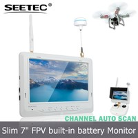 SEETEC 7 inch 5.8ghz wireless transmitter lcd monitor dji phantom camera kit rc quadcopter