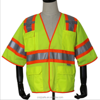 customized mesh high visibility vest working clothes