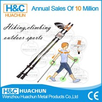 Popular Promotional Trekking Pole,Hot Aluminum Walking Stick for old people,Hiking Stick