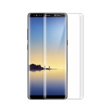 Newest screen protector for samsung note 8 case friendly tempered glass screen protector