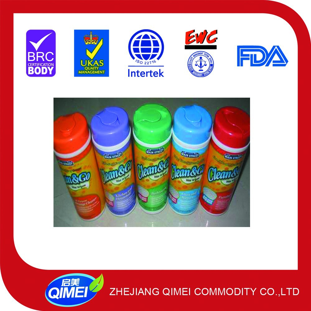 customized plastic box for wet wipes