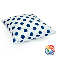 fashion polka dots cotton throw sofa decorative pillow case home textile pillow covers