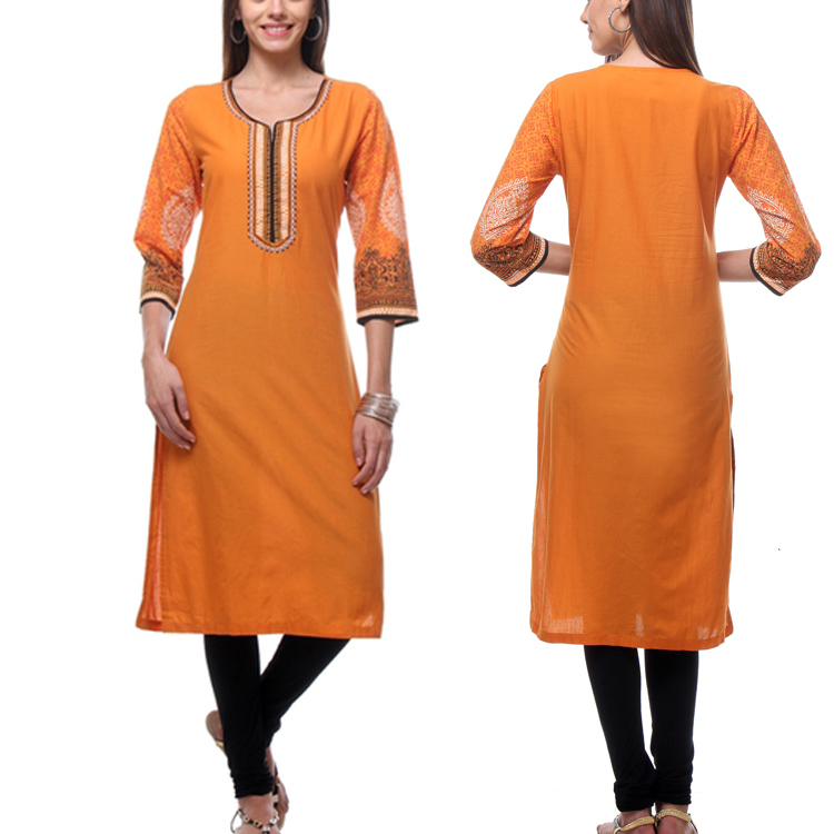 Wholesale India Long kurti Latest Boutique Dress For Indian Women