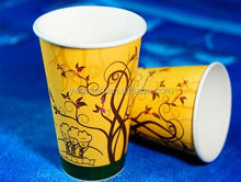 rolling paper making machine disposable paper cups / hot coffee cups for coffee / 12oz paper coffee cups