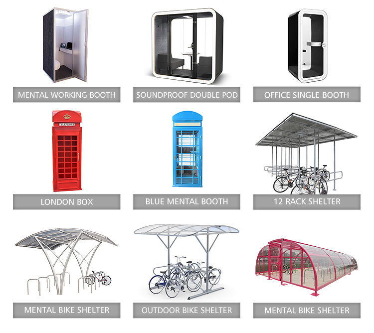 bike shelter, bus shelter