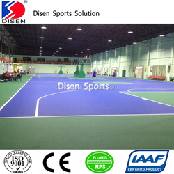 durable & seamless indoor sport courts surface material coating
