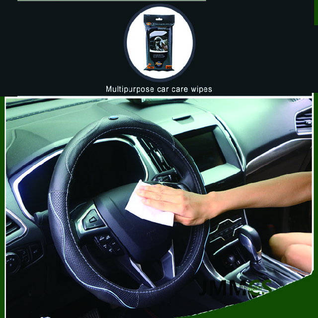 Hot Product Cheap Price Plastic Box Packing Car Interior Push Clean Wet Wipes