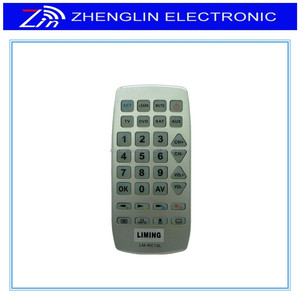 universal jumbo remote with learning function