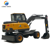 China Manufacturer High Quality Sugar Cane Loader With 4 Wheel Drive