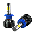Hot selling led headlight bulb 36W 4000lumens led h7 h11 9005 9006 bulb