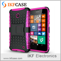 Case For Nokia Lumia 630 635 Hybrid TPU+PC 2 In 1 Hard Armor Shockproof With Stand Function Cover Case