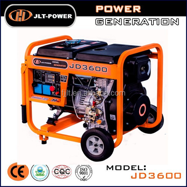 portable generator diesel 3kva with price