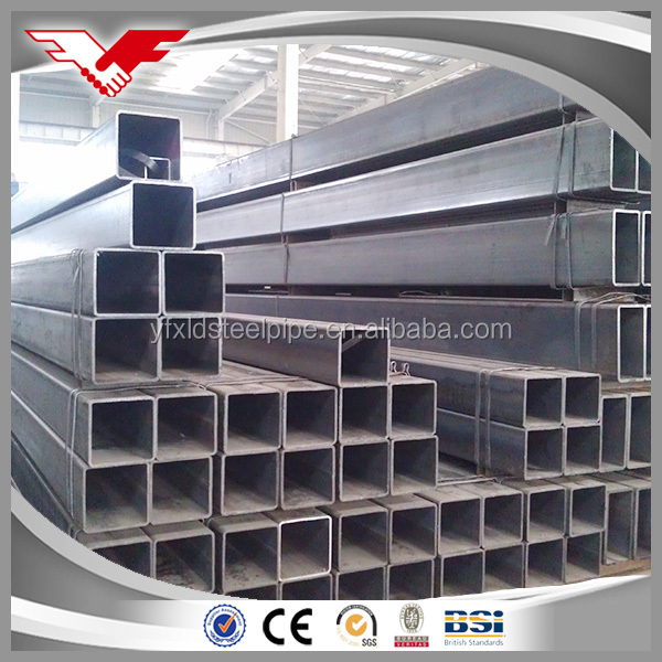 Famous company factory supply ss440 efw gi square hollow section pipe
