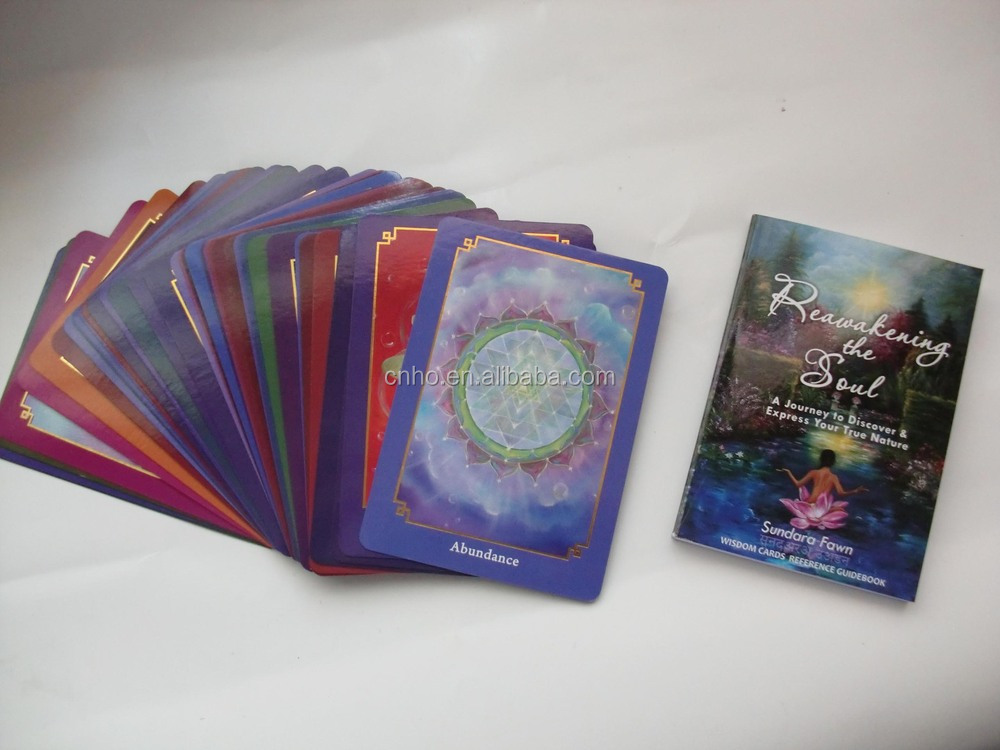 custom printed high quality tarot cards