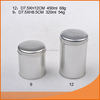 wholesale custom metal round tin box with lid