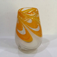 Orange Glass Vase, Alabaster Vase, Murano Glass Vase Made In China