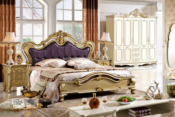 purple color itatly style furniture Classic Furniture Bedroom Sets