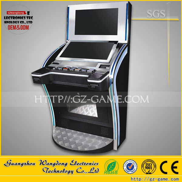 High quality ! electronic bingo slot game cabinet machine made in China for sale