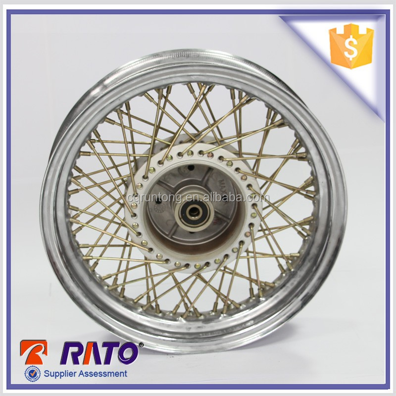 The most popular and general motorcycle spoke wheel for sale