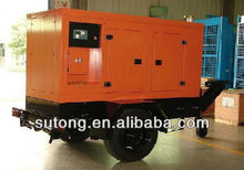 trailer diesel soundproof generator with cummins engine