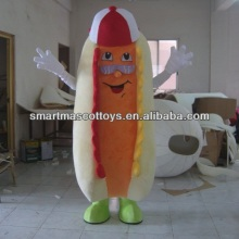 hot dog mascot adult food mascot costumes