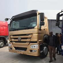 China truck manual transmission 10 tyre 6x4 tractor head truck for sale