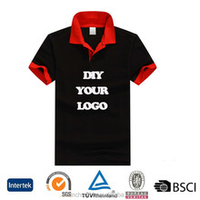 New design 100% microfiber size XXXXL black polyester racing polo shirts for women