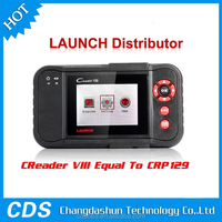 New Arrival LAUNCH X431 Creader VII+ OBDII Auto Code Scanner Equal to Launch CPR123 Internet Update