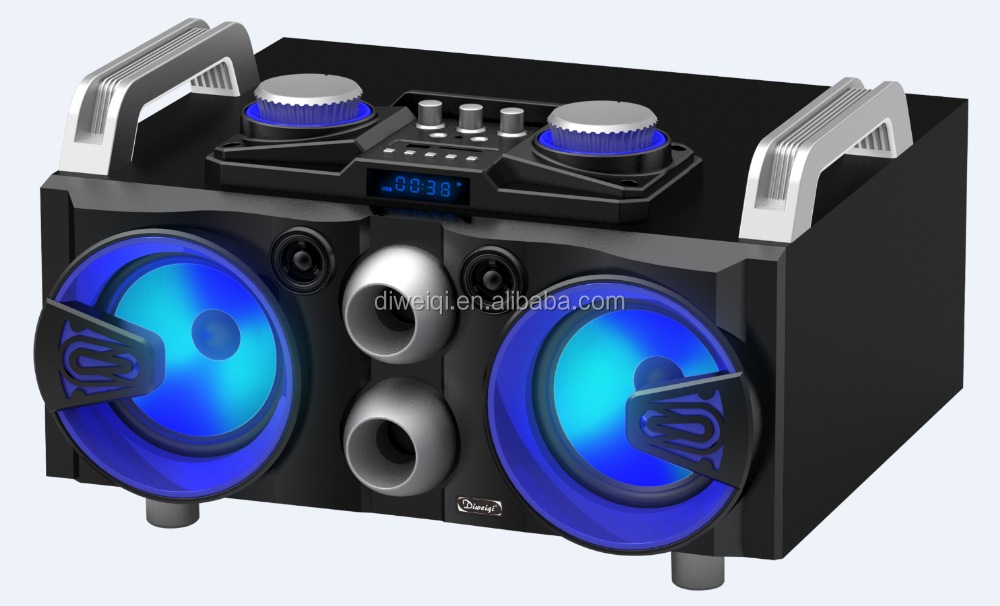 New Arrival 5inches Bluetooth Wireless Portable Speakers with Double woofers