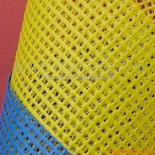 solid color pvc mesh tarp and plastic mesh for screen mesh