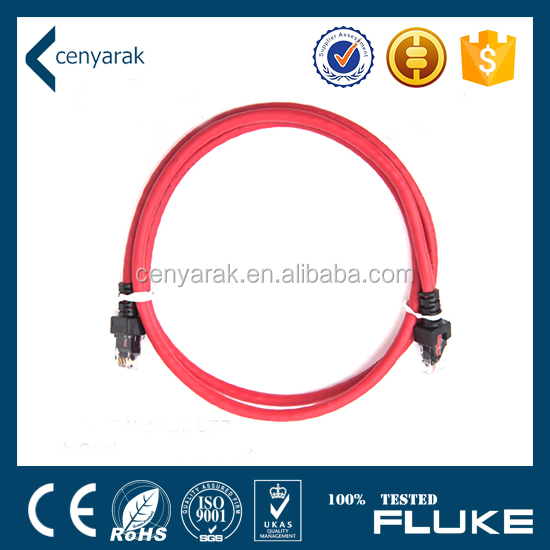 24AWG PVC Jacket UTP Cat6 Network Patch Cord