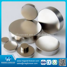 customized N35-N52(M,H,SH,UH,EH,AH) permanent disc NdFeB magnet neodym